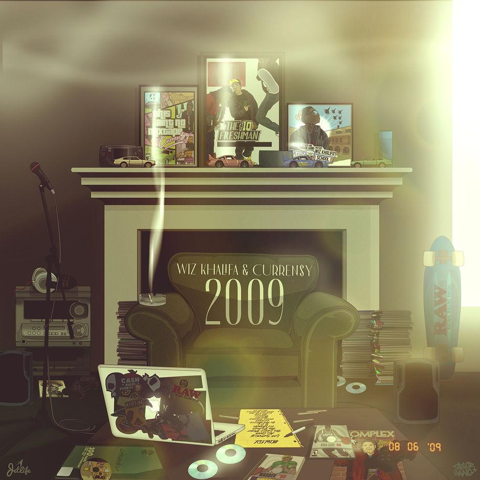 Listen to Wiz Khalifa and Curren$y's album, 2009
