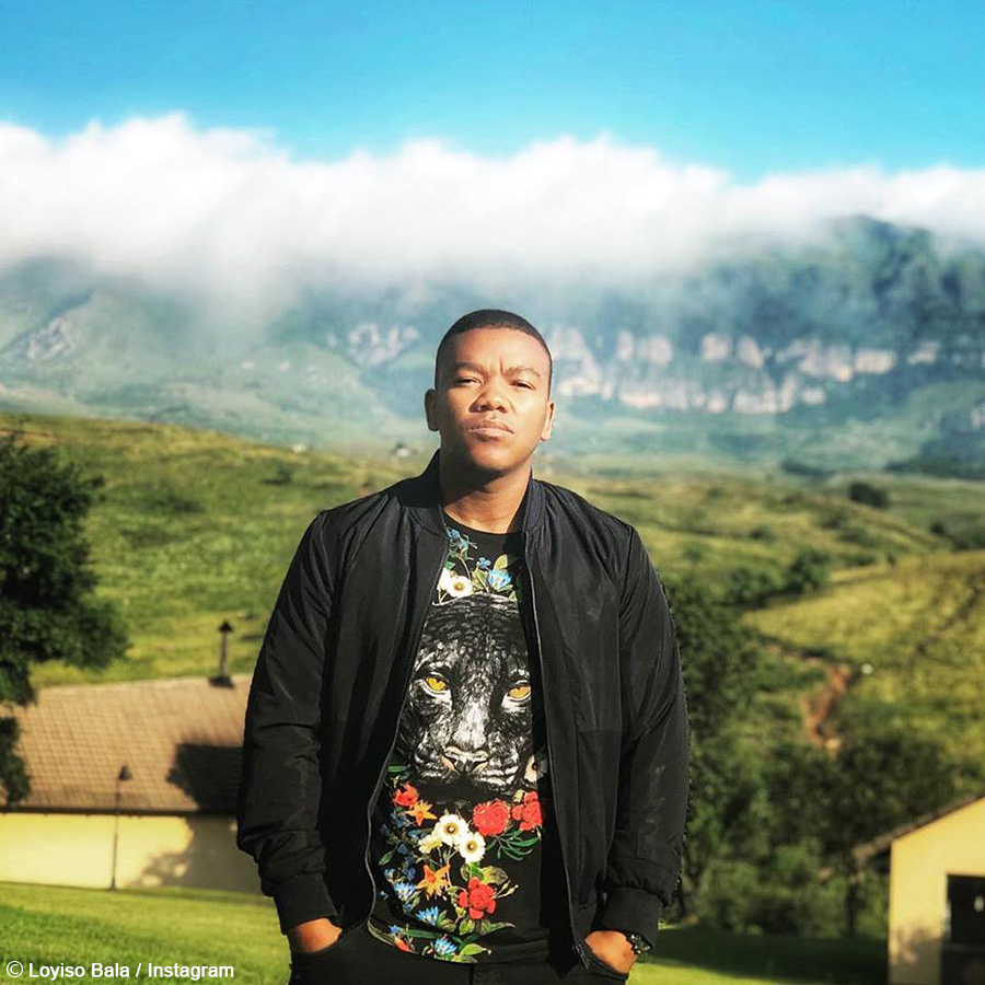 Loyiso Bala is shooting two music videos this week