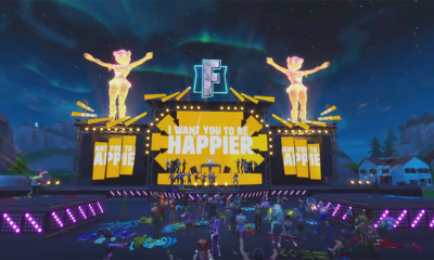 Watch Marshmello's official Fortnite music video for Happier, featuring Bastille Marshmello