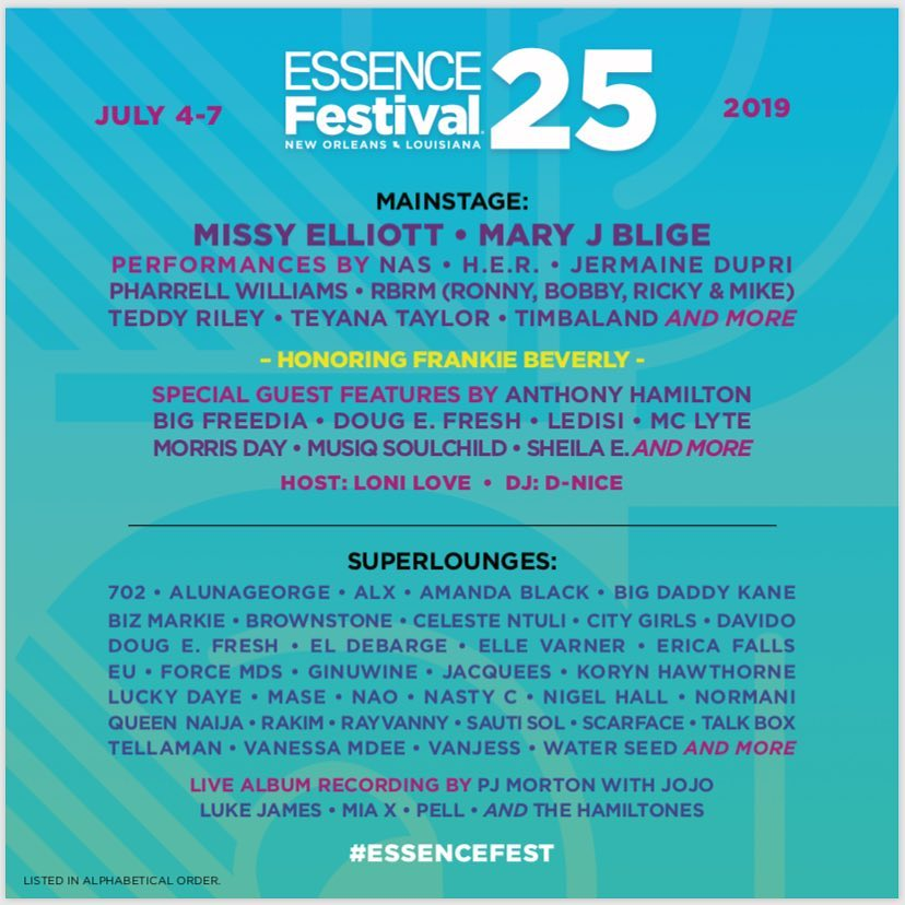 Nasty C and Tellaman to perform at Essence Festival 2019 in New Orleans