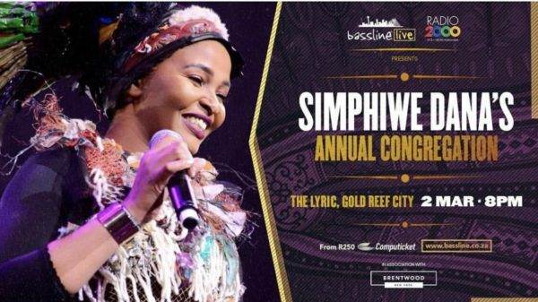 Simphiwe Dana takes to The Lyric Theatre for her Annual Congregation