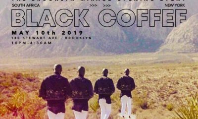 Black Coffee to perform at The Brooklyn Mirage Opening event in New York
