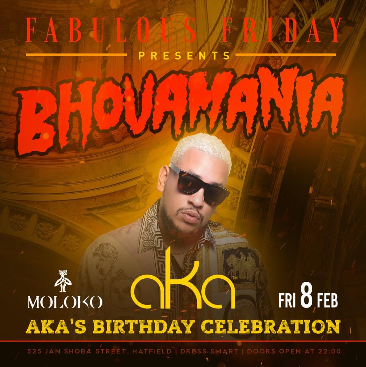 AKA's Bhovamania birthday tour heads to Pretoria, Cape Town