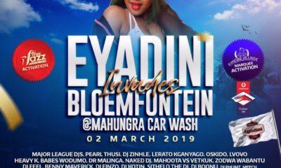 Babes Wodumo headlines Eyadini Invades Bloemfontein event