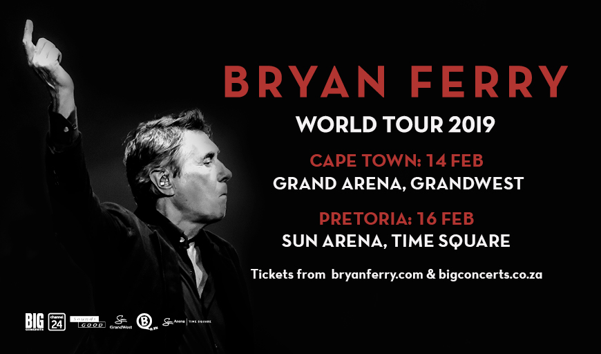 Bryan Ferry Gears up for the Pretoria leg of his South African tour