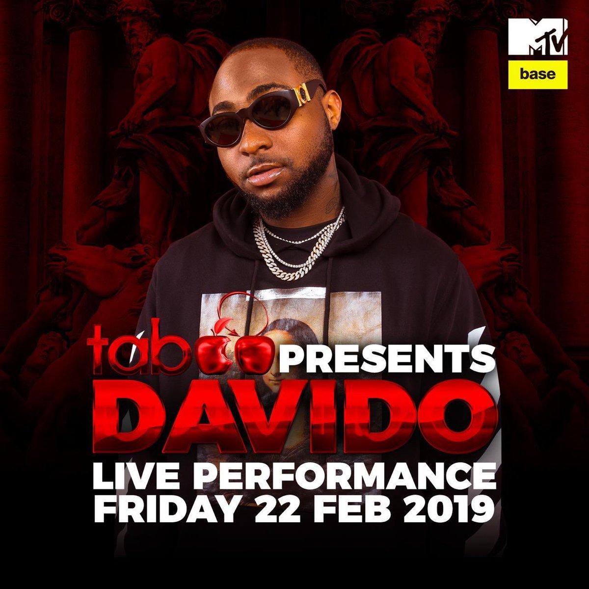 DJ Maphorisa and Davido to perform at Taboo tonight