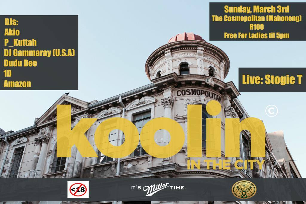 Stogie T to host Koolin in the City