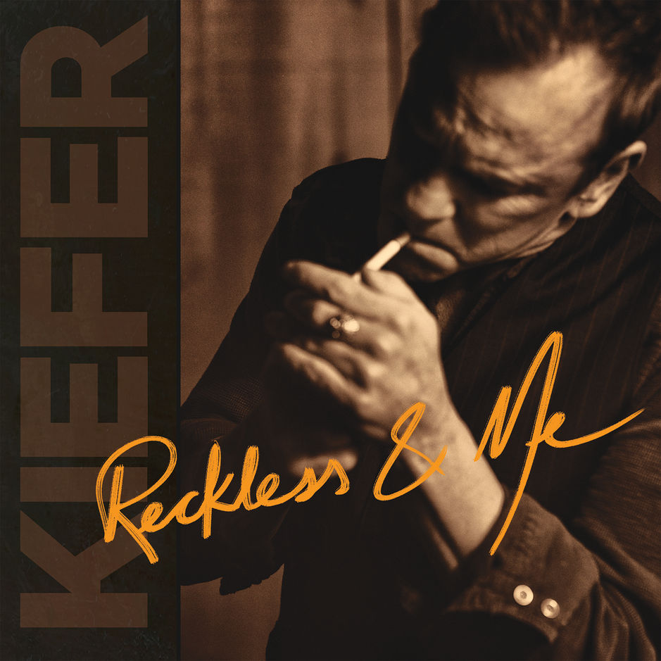 Kiefer Sutherland reveals the track list and cover art for upcoming album, Reckless And Me