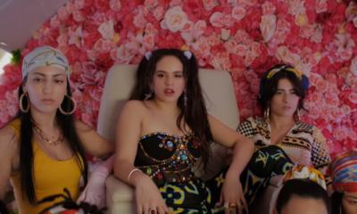 Watch Rosalía's Con Altura music video, featuring J Balvin and El Guincho