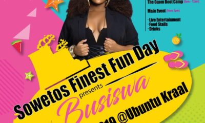 Busiswa headlines Soweto's Finest Fun Day: Gqom Boot Camp