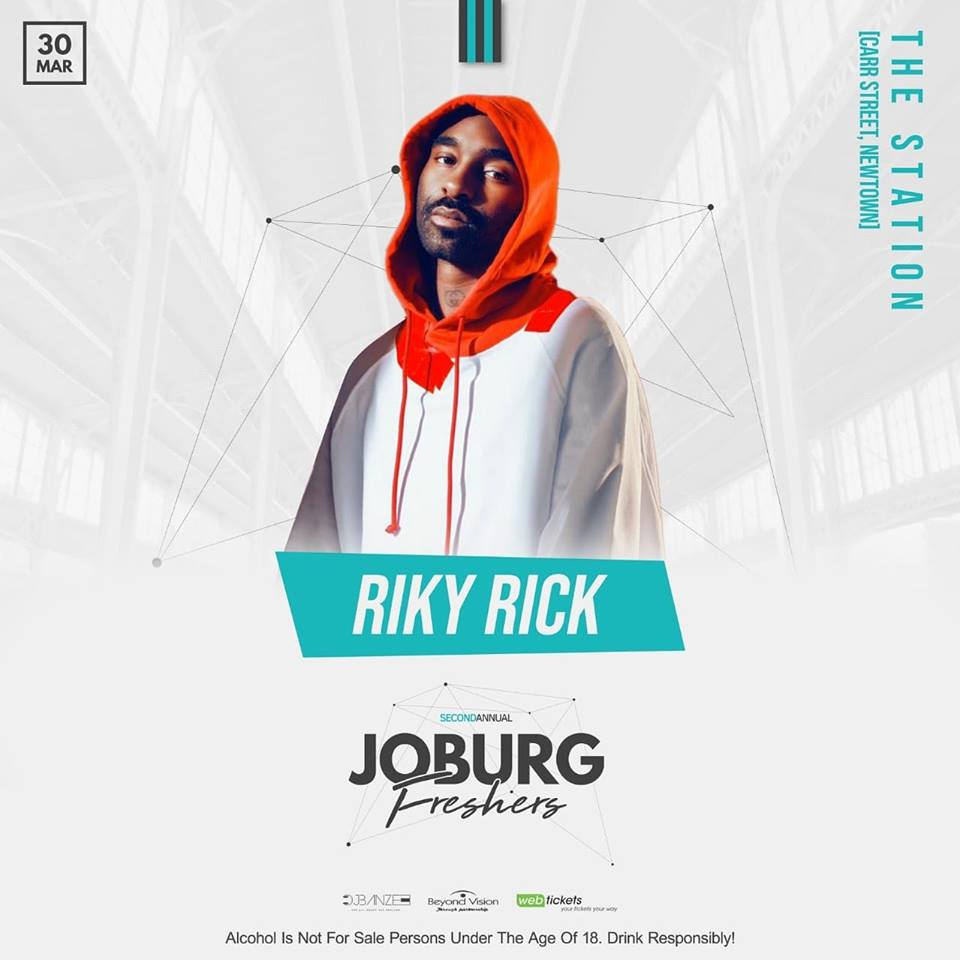 On the road to the second annual Joburg Freshers with Riky Rick