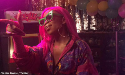 Ms Cosmo shares behind-the-scenes images from her upcoming 88 music video