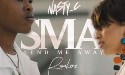 Nasty C shares snippet of SMA music video, featuring Rowlene