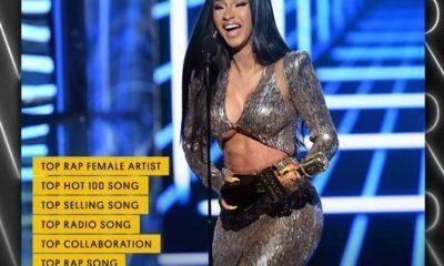 Cardi B wins six awards at the 2019 Billboard Music Awards