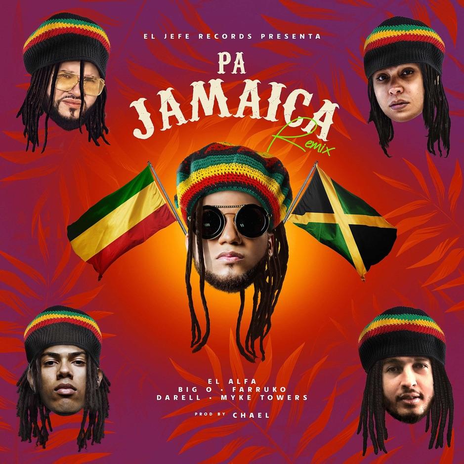El Alfa x Farruko x Darell x Myke Towers x Big O - Pa Jamaica Remix