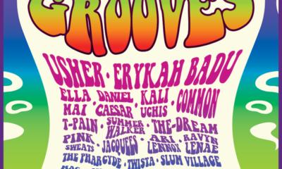 Usher to co-headline Smokin Grooves music festival, alongside Erykah Badu