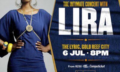 Lira Gold Reef City's Lyric Theatre in July