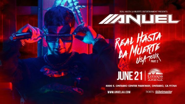 Anuel AA Real Hasta La Muerte North American tour