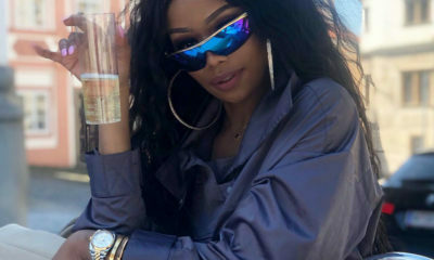 Bonang Matheba shares video of her reflective Ashluxe jacket and pants