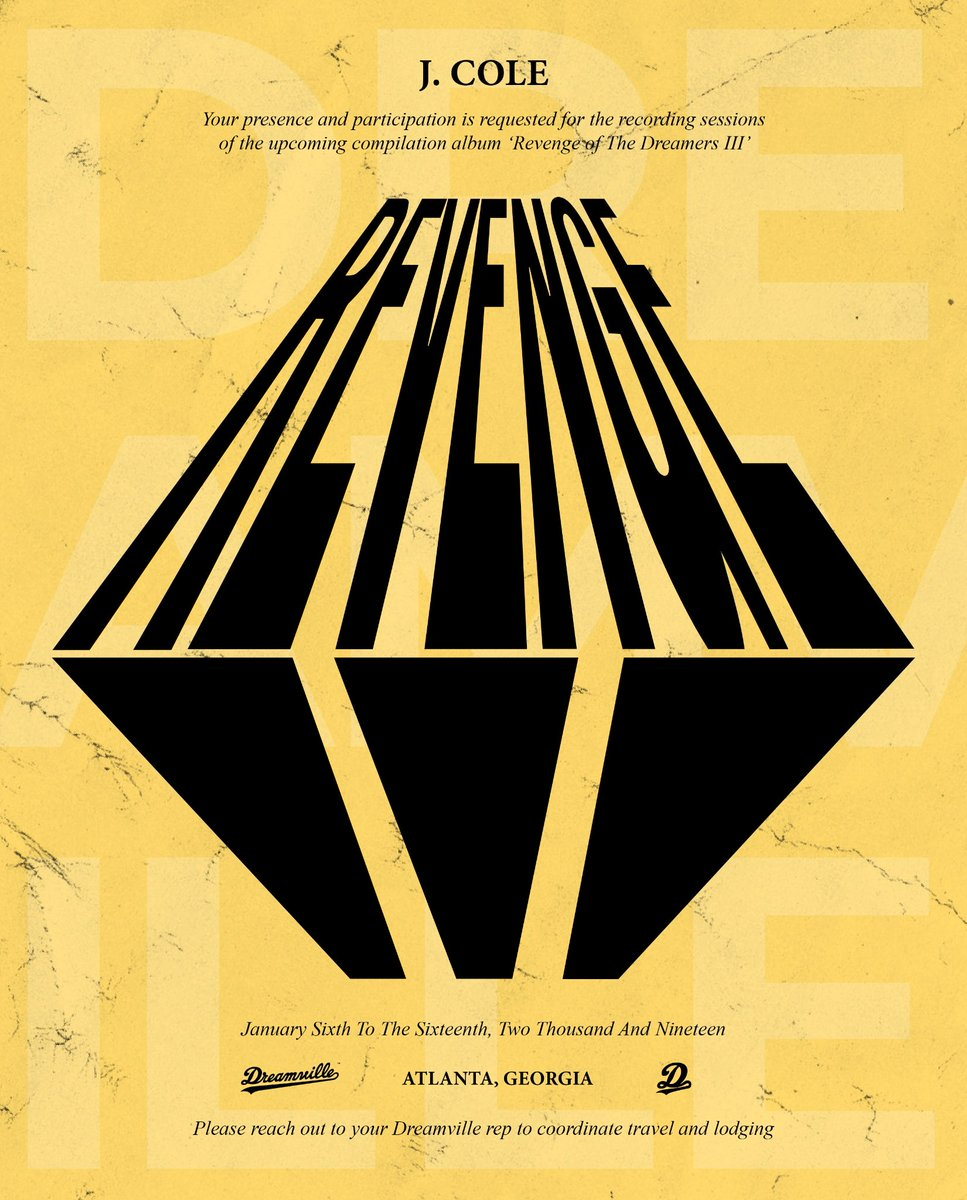 J. Cole album Revenge of the Dreamers 3