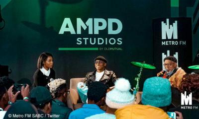 Khuli Chana performs new music at AMPD Studios