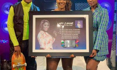 Lady Zamar album King Zamar certified double platinum