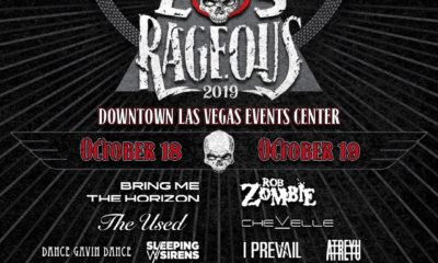 Sleeping With Sirens set to perform at 2019 Las Rageous Music Festival