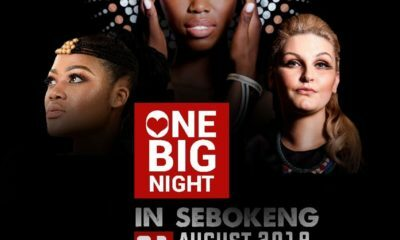Lira Sebokeng One Big Night concert