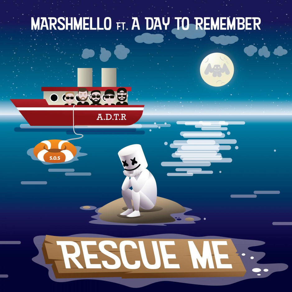Marshmello – Rescue Me ft A Day To Remember