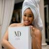 Minnie Dlamini Jones skincare brand MD by Minnie Dlamini copy