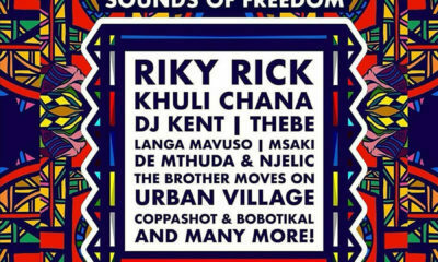 Riky Rick and Khuli Chana Basha Uhuru Freedom Festival