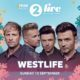 Westlife BBC Radio 2 Live in Hyde Park music festival