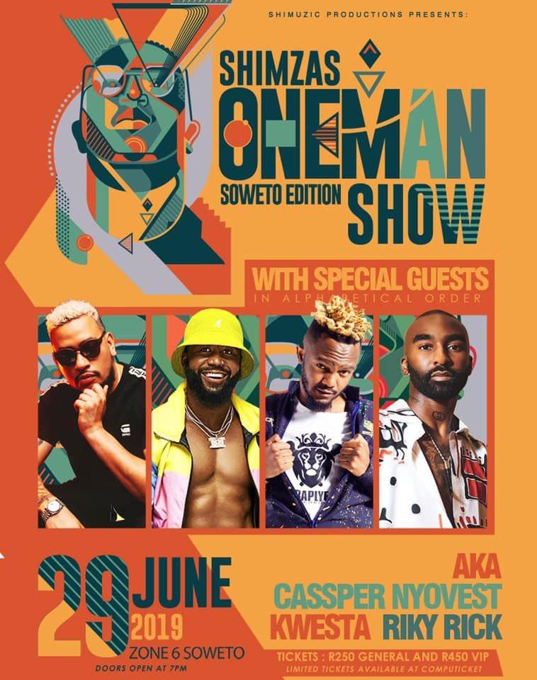 dj Shimza One Man Show