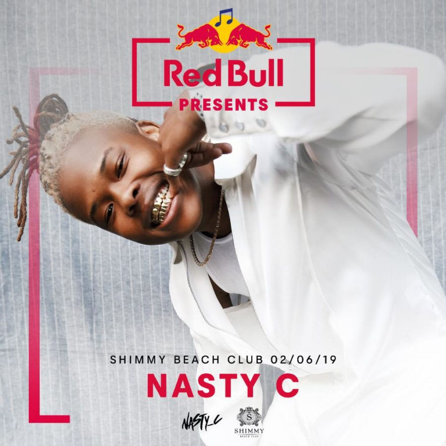 nasyt c Red Bull Circuit after-party at Shimmy Beach Club in Cape Town