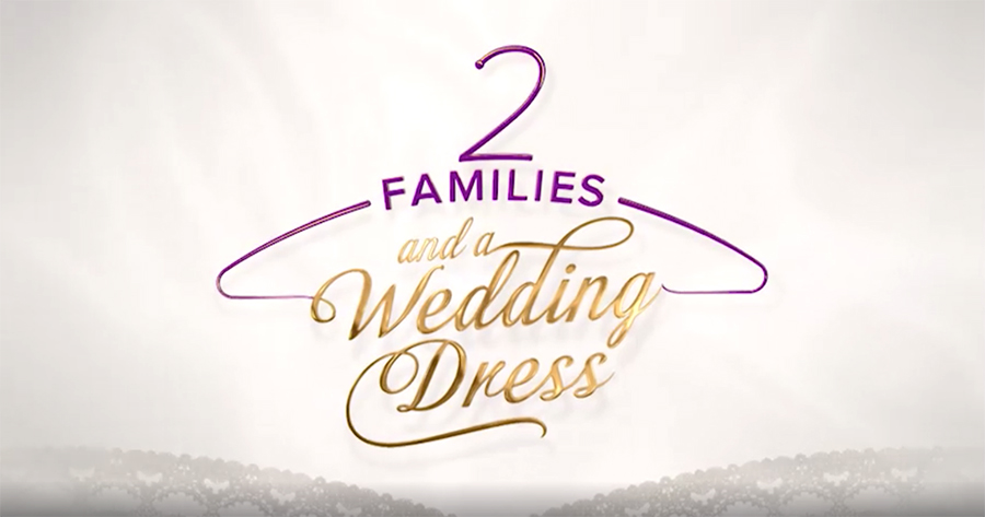 2 Families And A Wedding Dress: The bride is evidently underwhelmed by the chosen dress