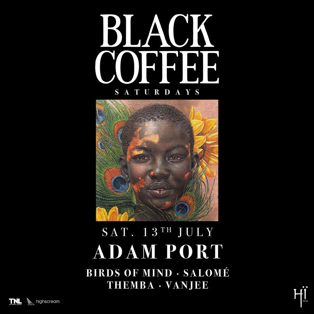 DJ Black Coffee reveals latest Black Coffee Saturdays line-up