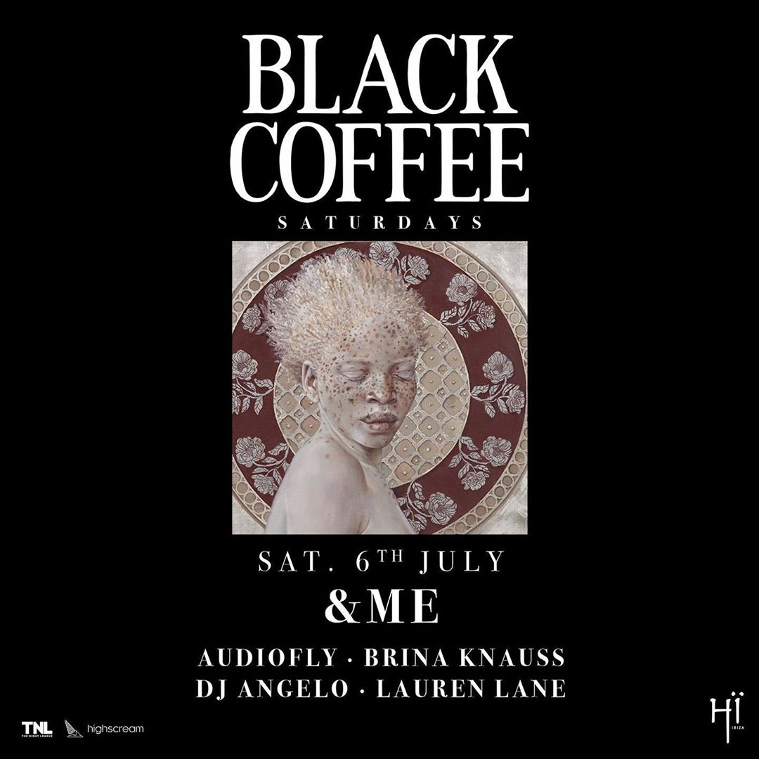 DJ Black Coffee Hi Ibiza residency