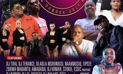 Zodwa Wabantu at Dundee July