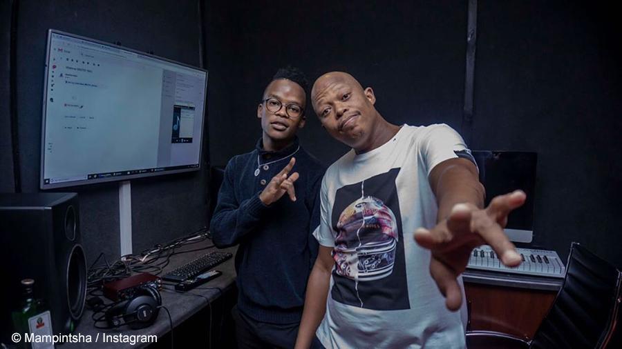 Babes Wodumo and Mampintsha tease new singles