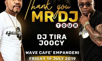 DJ Tira Thank You Mr DJ tour