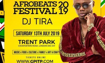 DJ Tira London Afrobeats Festival 2019