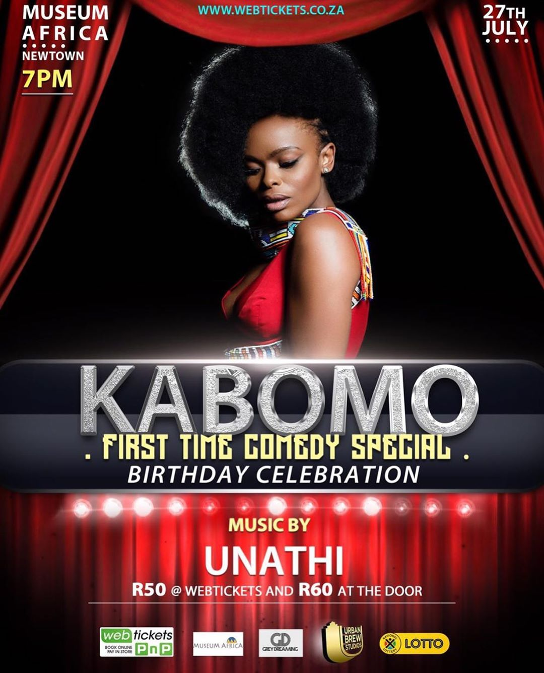 Unathi Nkayi Kabomo's First Time Comedy Special