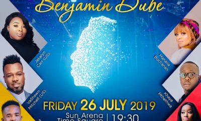 Benjamin Dube reveals the last set of guest performers for Glory In His Presence concert