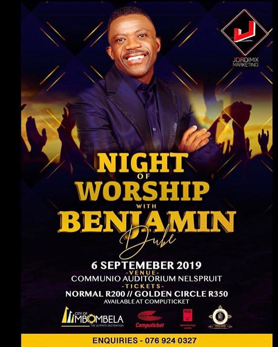 A Night Of Worship With Benjamin Dube