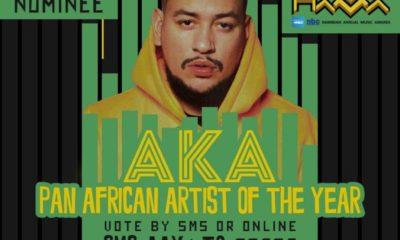 AKA nominated at Namibian Annual Music Awards 2019