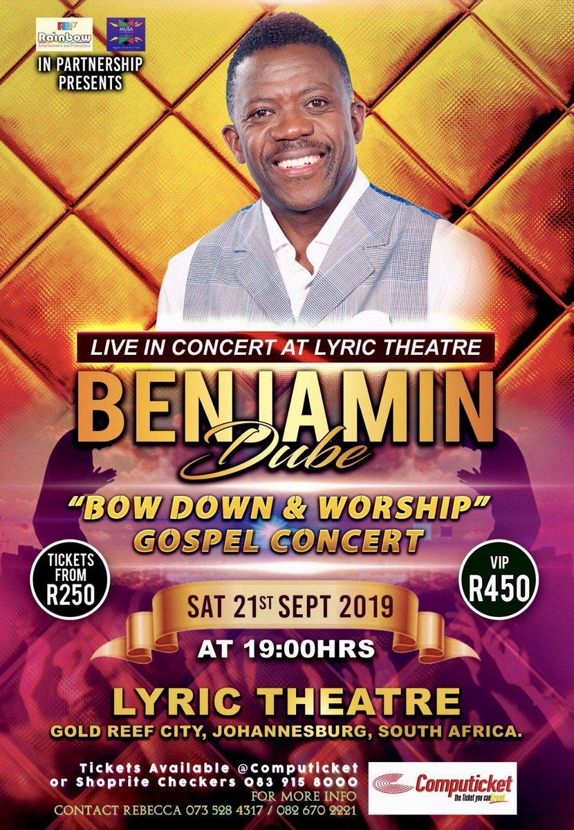bow down and worship him by benjamin dube