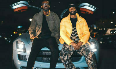 Black Coffee and Riky Rick Legends Barbershop