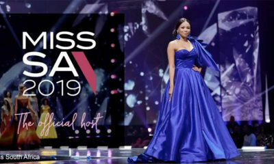 Bonang Matheba hosts Miss SA 2019 Top 16 announcement event