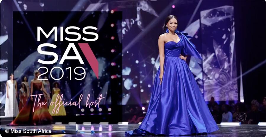 Bonang Matheba hosts Miss SA 2019 Top 16 announcement event