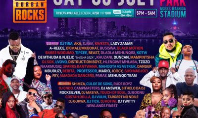 DJ Tira Durban July Fact Durban Rocks